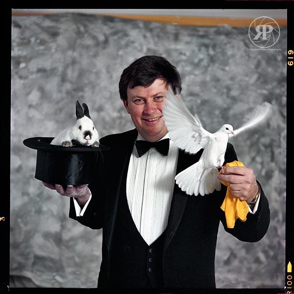 Ray Roch, Magician, 1985