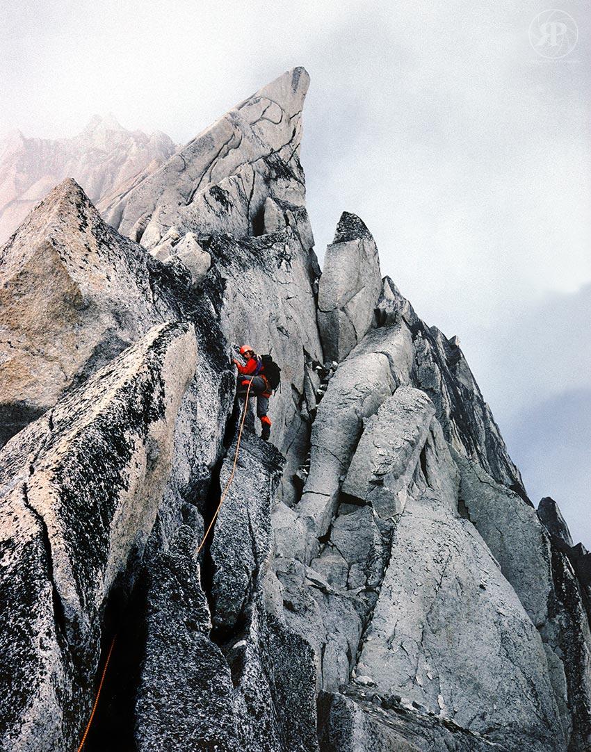 NE Ridge of Bugaboo Spire - Gripped Magazine