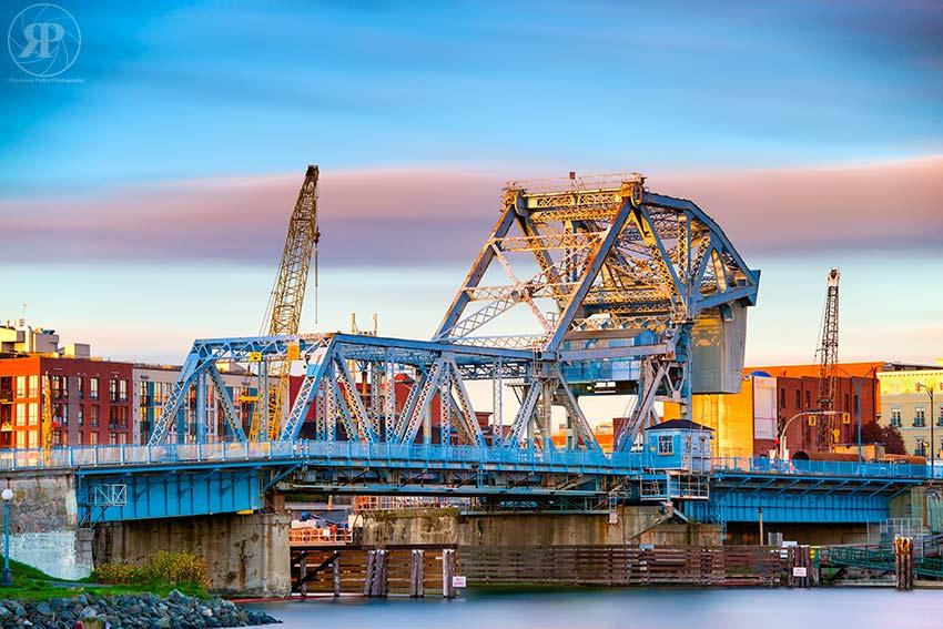 The Blue Bridge, Victoria, 2014 (14-minute exposure)