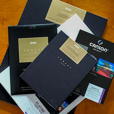 Epson Legacy, Canson Infinity