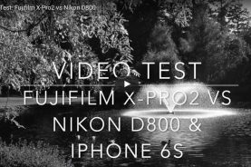 Fujifilm X-Pro2 video test
