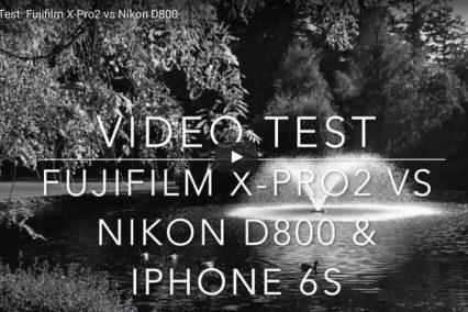 Fujifilm X-Pro2 video test